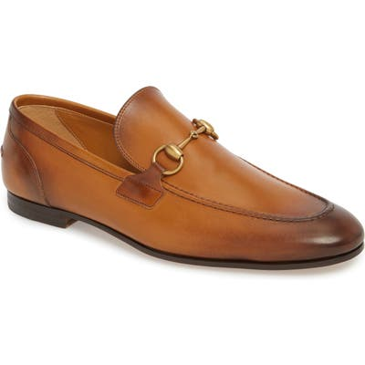 Gucci Jordaan Bit LoaferUS / 7.5UK - Brown