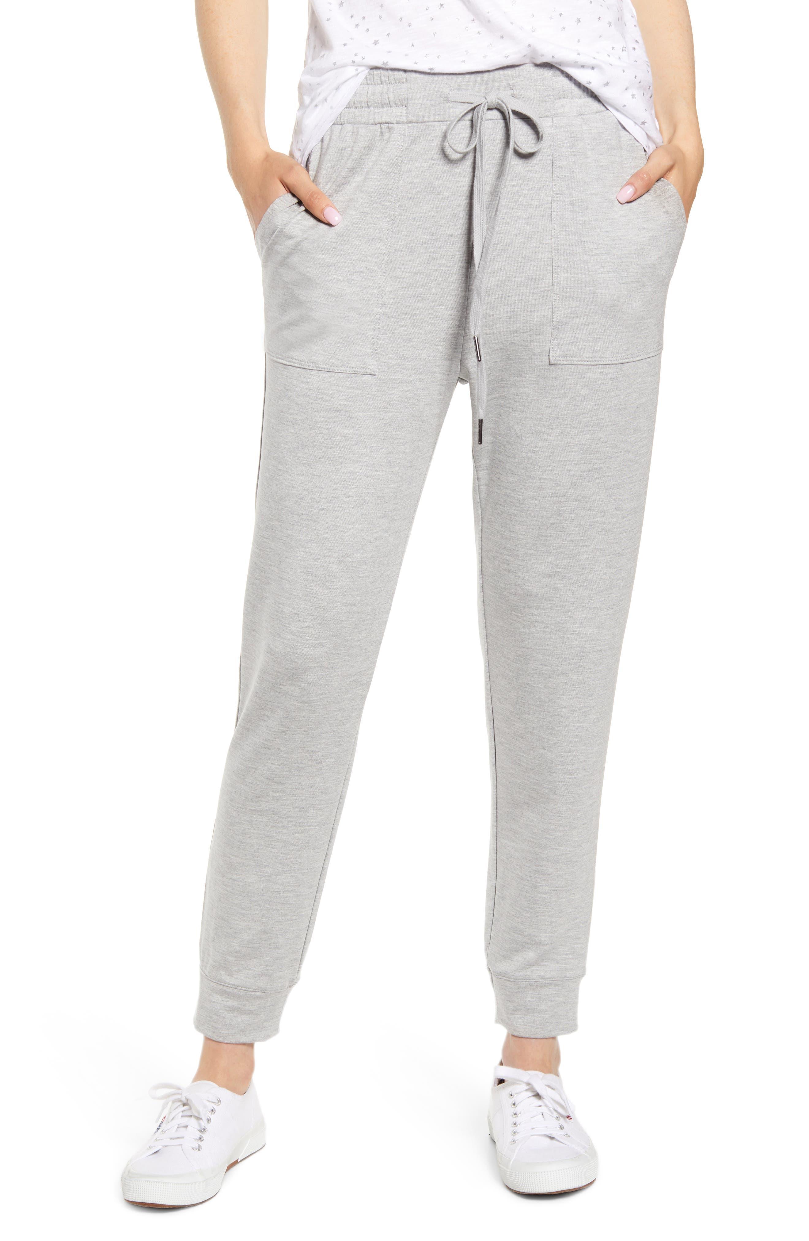 Caslon® Knit Jogger Pants (Regular & Petite)