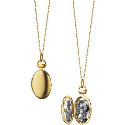 Monica Rich Kosann Anna Petite Locket Necklace