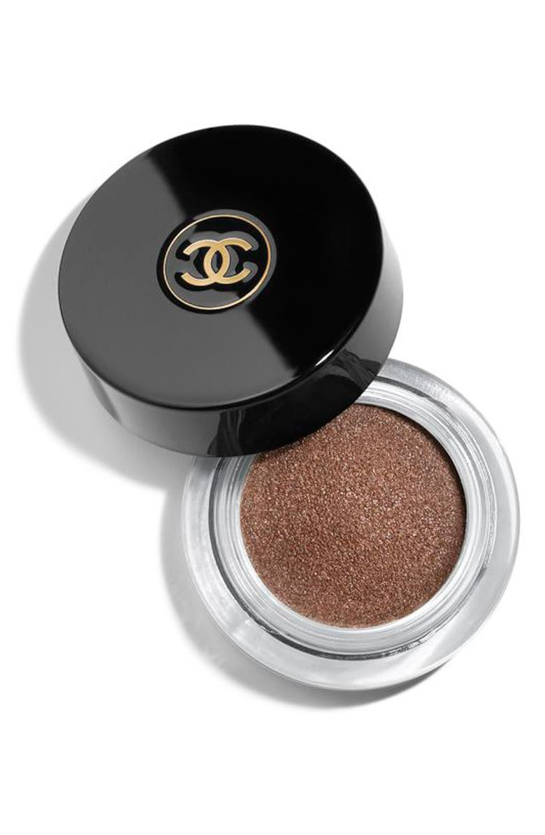 CHANEL OMBRE PREMIÈRE <br />Longwear Cream Eyeshadow, Main, color, 814 SILVER PINK