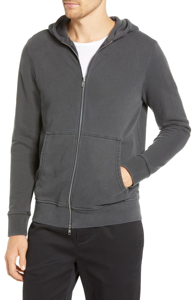 BLDWN Asher Zip Hoodie, Main, color, 001