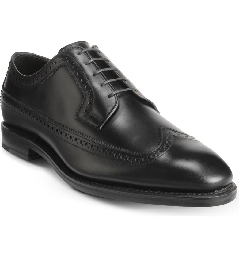ALLEN EDMONDS Greene St. Longwing Derby, Main, color, BLACK