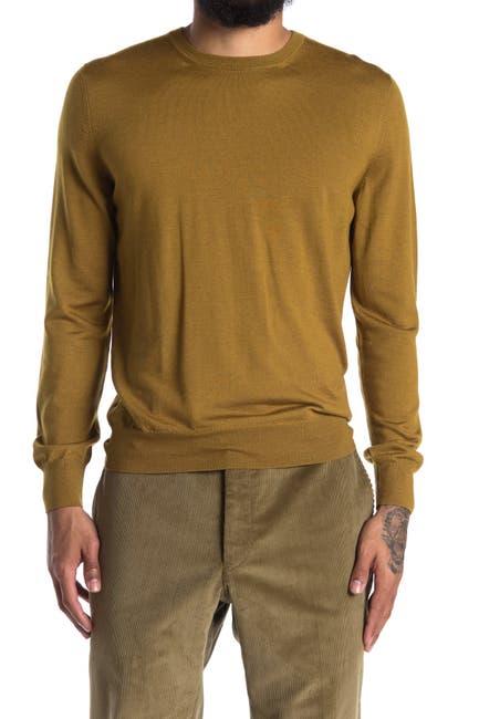 Image of Corneliani Wool, Silk & Cashmere Blend Crew Neck Sweater