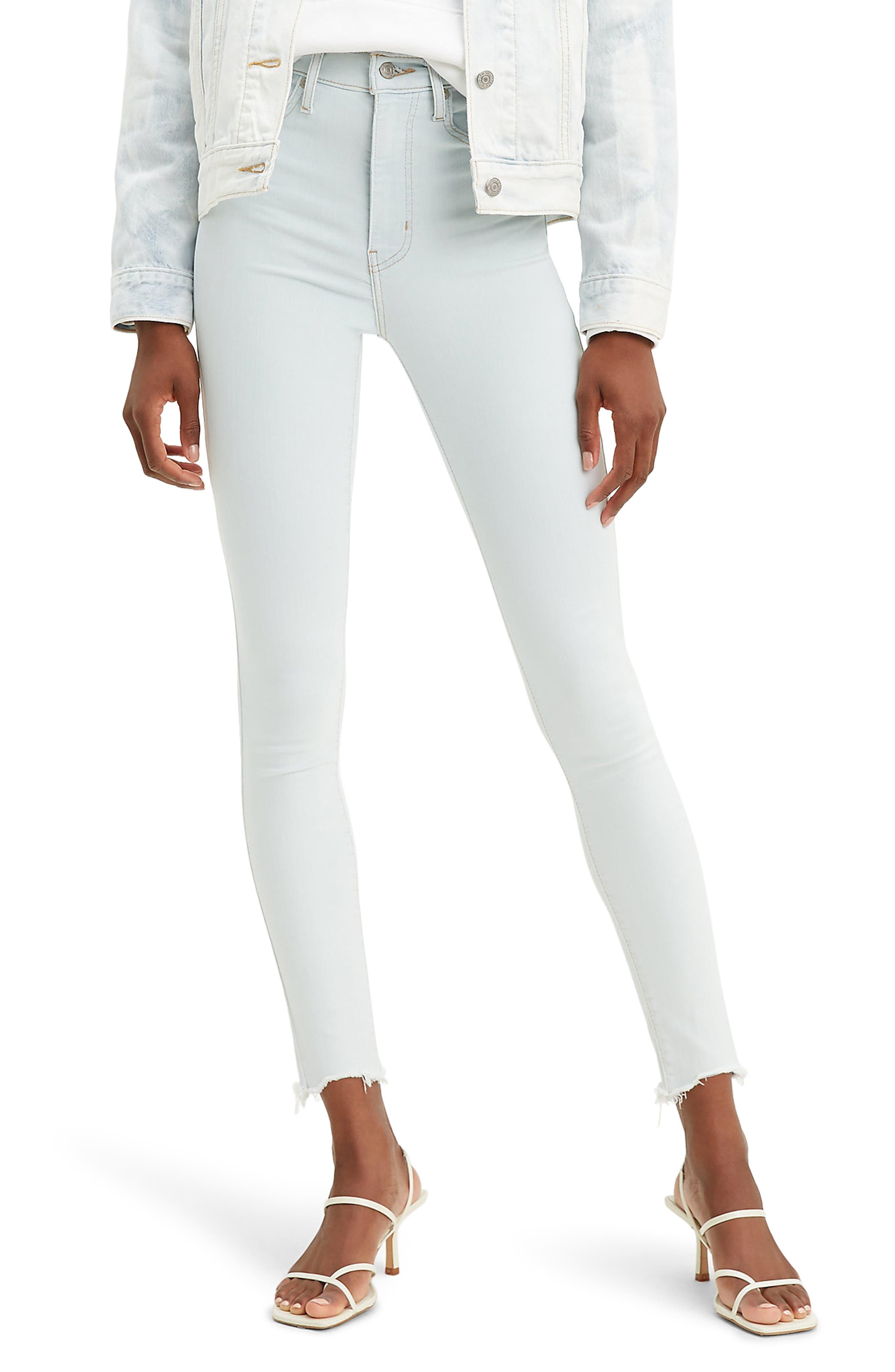 Women's Levi's Mile High Super Skinny Jeans,  33 x 30 - Blue