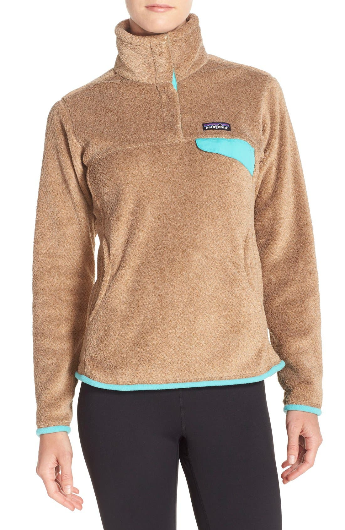 ,                             Re-Tool Snap-T<sup>®</sup> Fleece Pullover,                             Main thumbnail 100, color,                             250