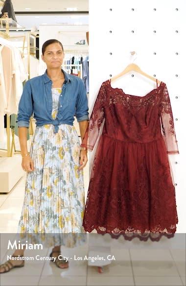 Rosalita Lace Fit & Flare Dress, sales video thumbnail