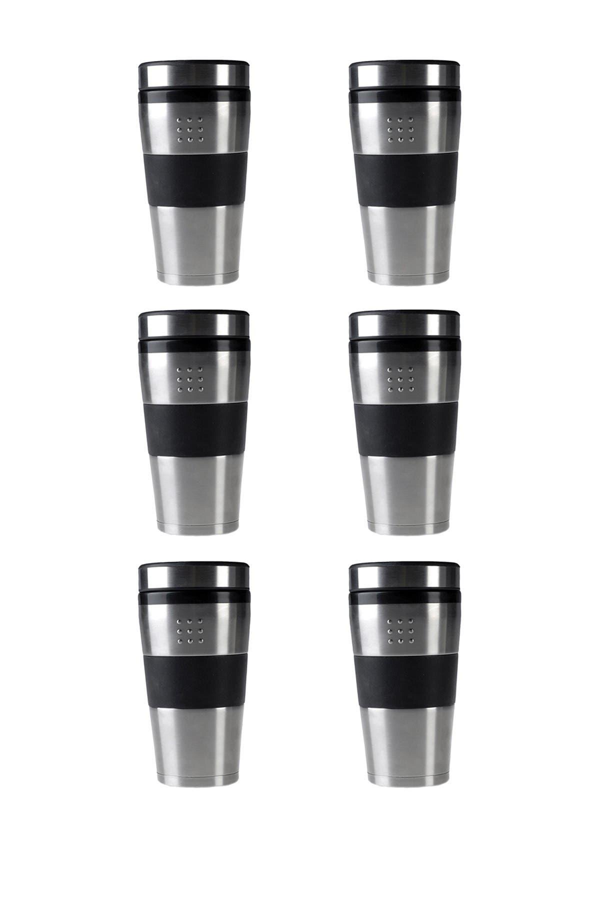 Berghoff Orion 16oz Stainless Steel Travel Mug Set Of 6 Nordstrom Rack