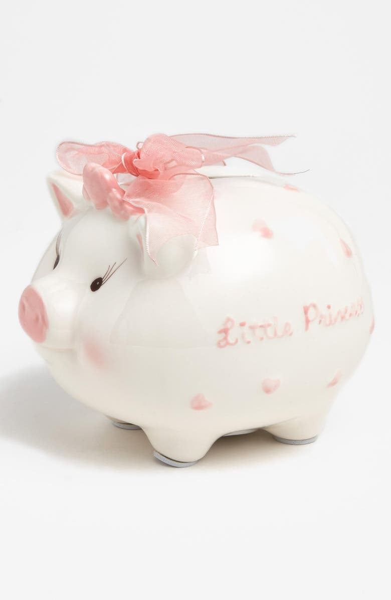 MUD PIE 'Little Princess' Bank, Main, color, PINK