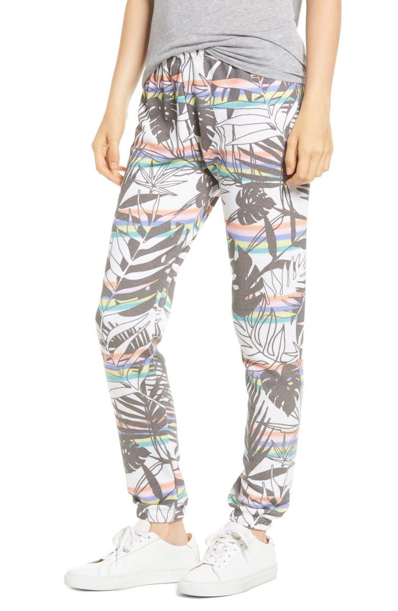 WILDFOX Knox Tropics Jogger Pants, Main, color, MULTI