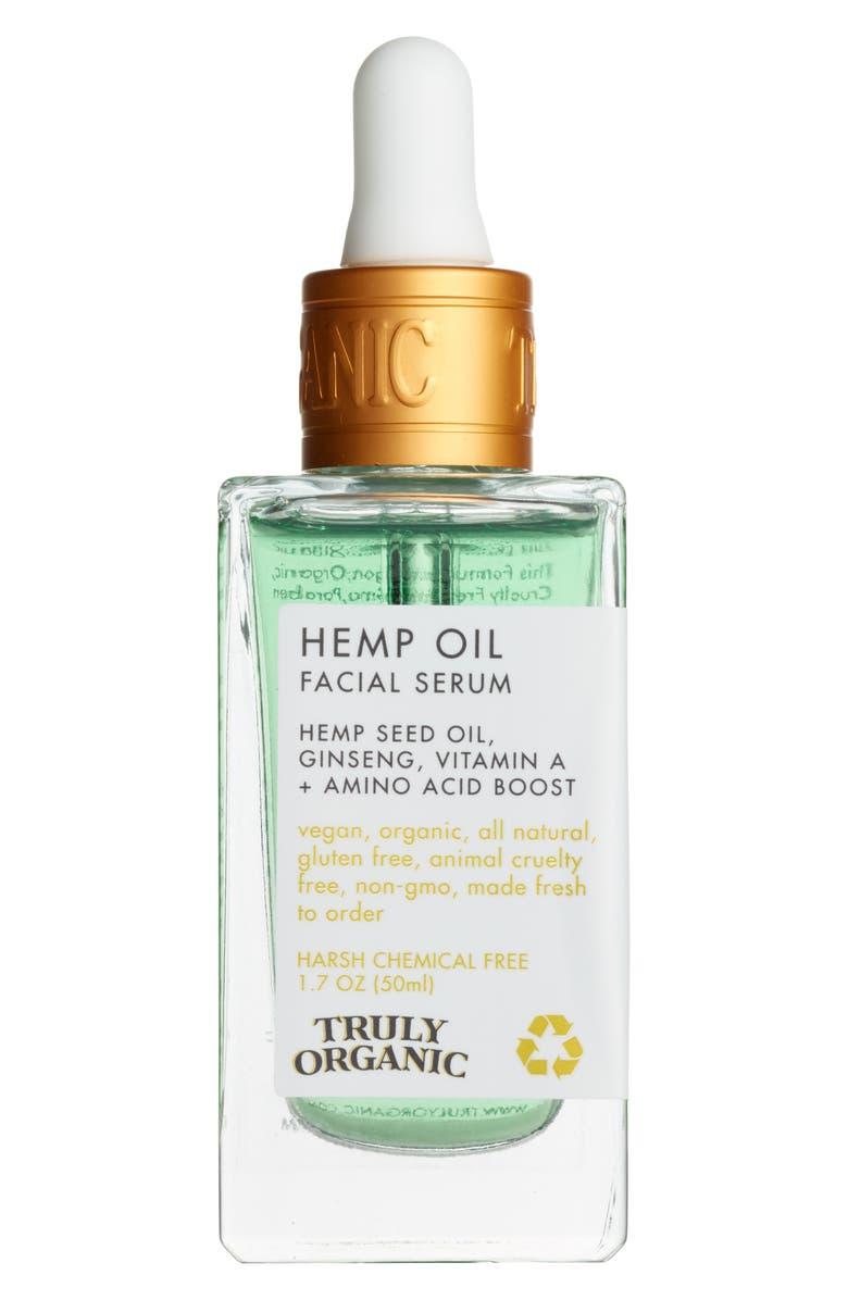 Truly Organic Hemp Oil Facial Serum | Nordstrom