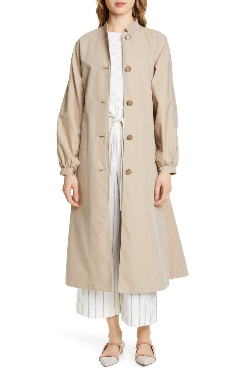 CLUB MONACO Josefienahh Trench Coat, Main, color, 250