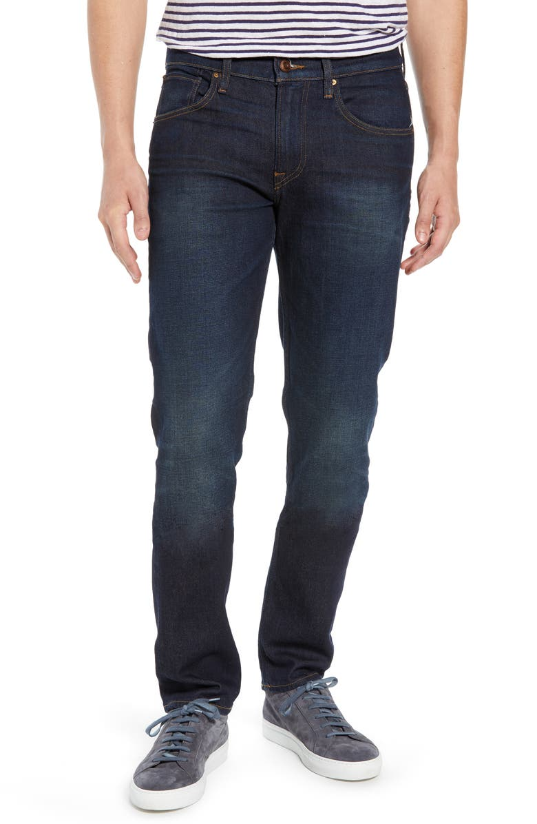 HUDSON JEANS Blake Slim Fit Jeans, Main, color, VERKLER
