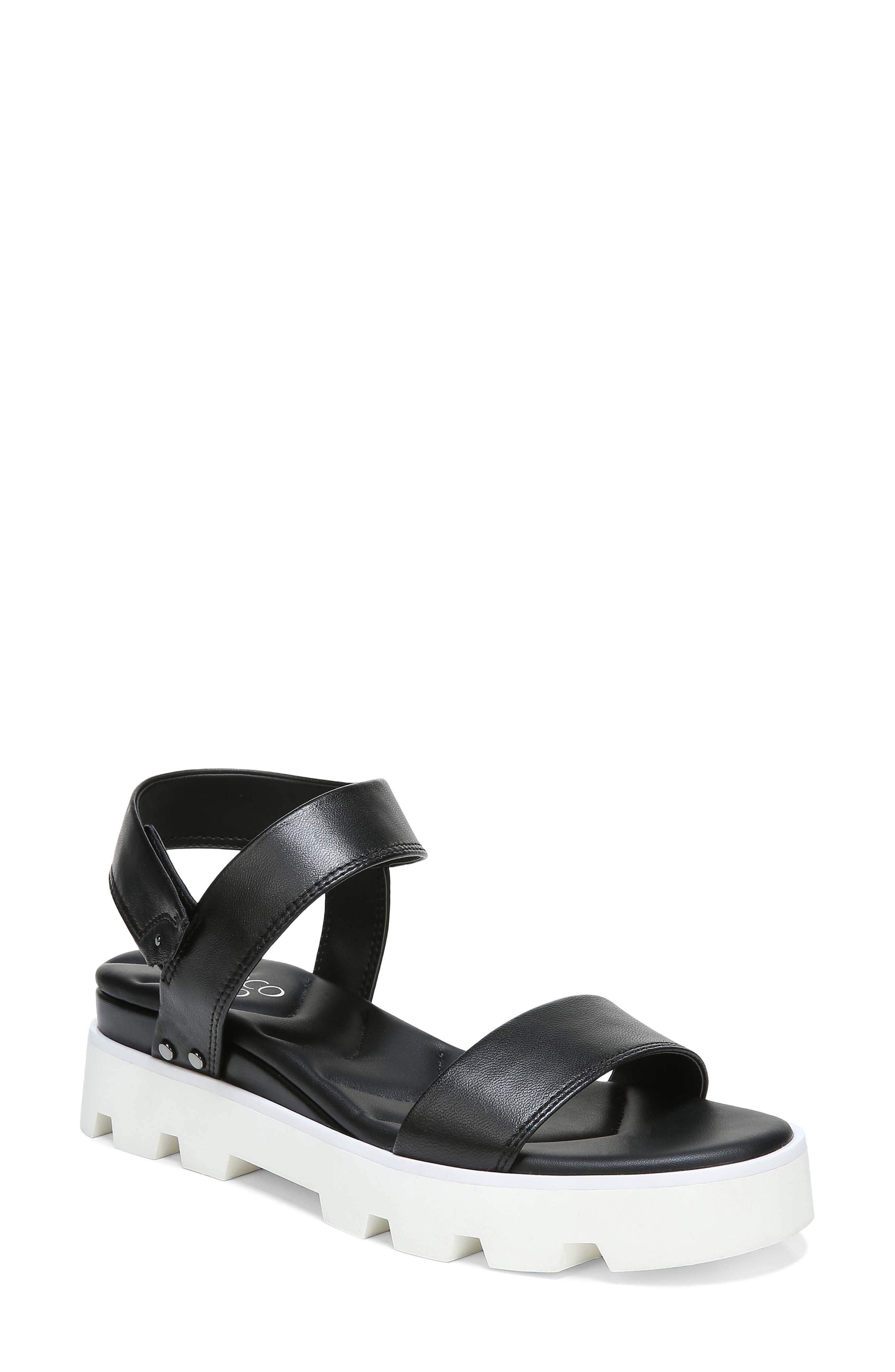 Umber Platform Sandal