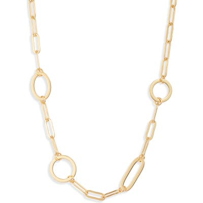 Sterling Forever Mixed Link Chain Necklace