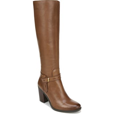 Naturalizer Kamora Knee High Boot, Regular Calf W - Brown