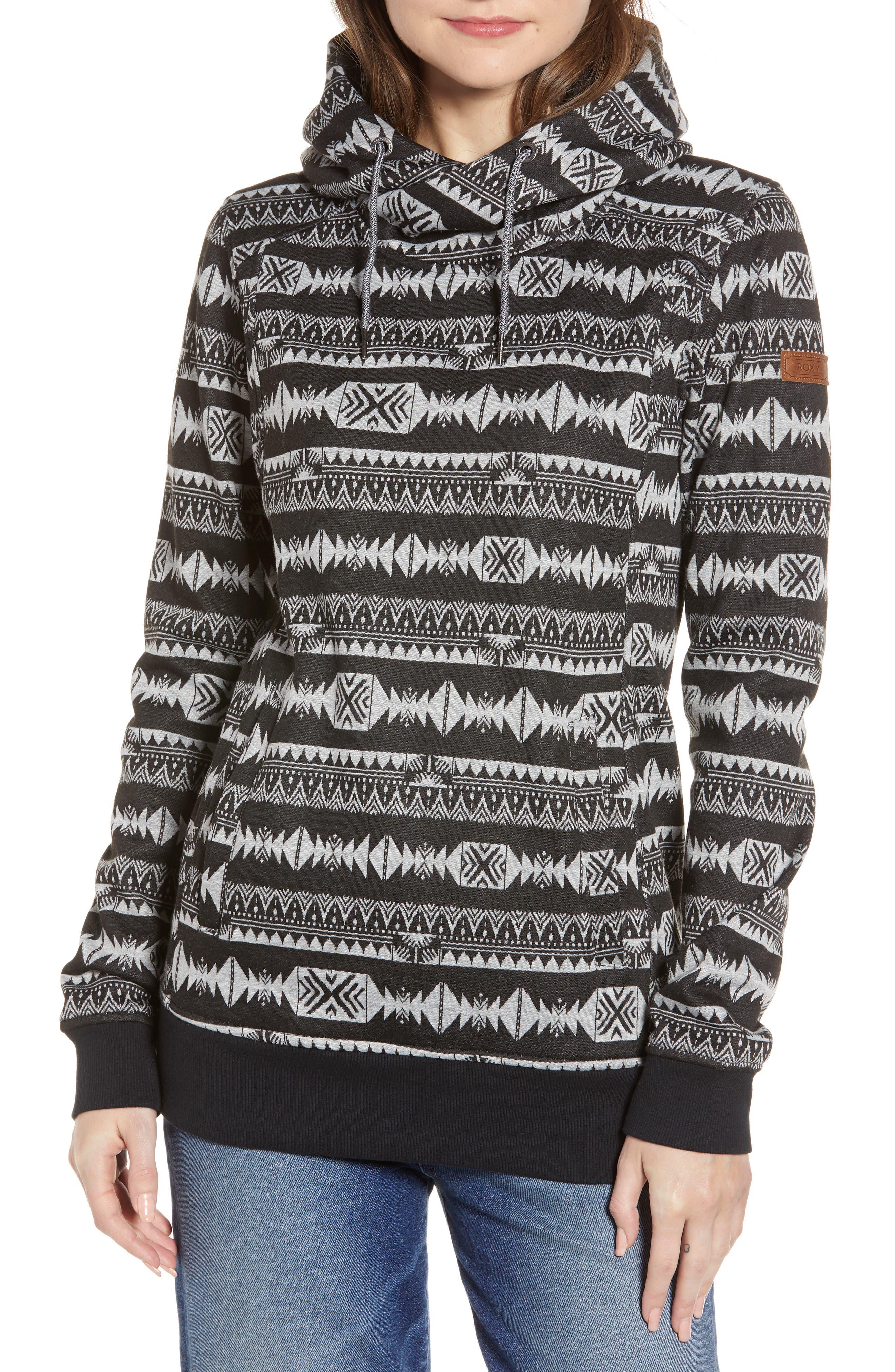 Roxy Womens Dipsy Pullover Hooded Sweatshirt