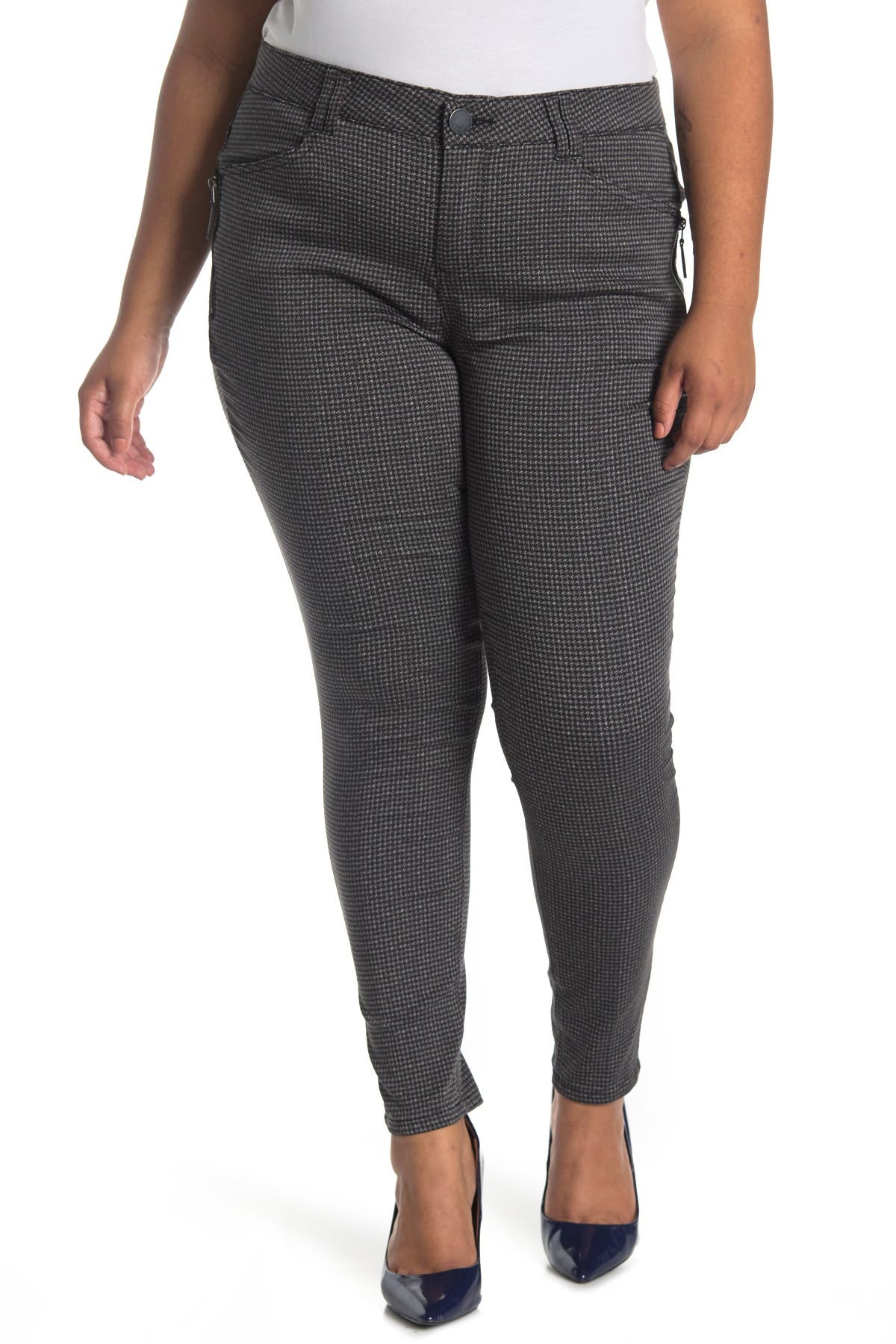 Image of Democracy AB Tech Side Zip Jeggings