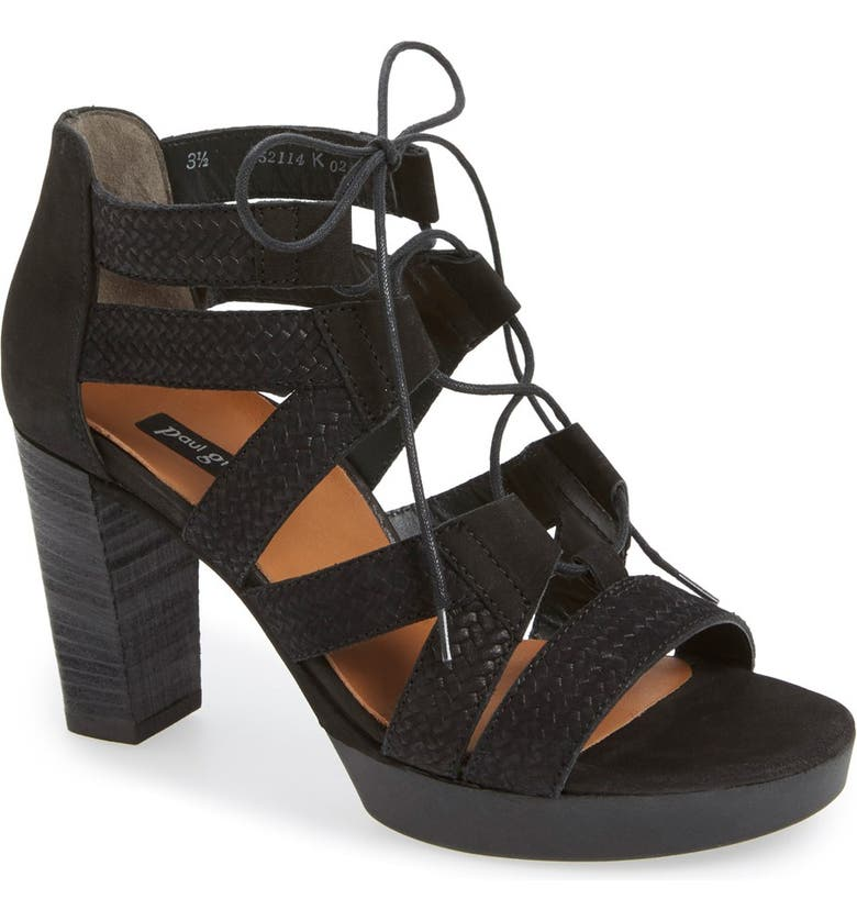 f41cd2a14 Paul Green 'Hana' Lace-Up Sandal (Women) | Nordstrom