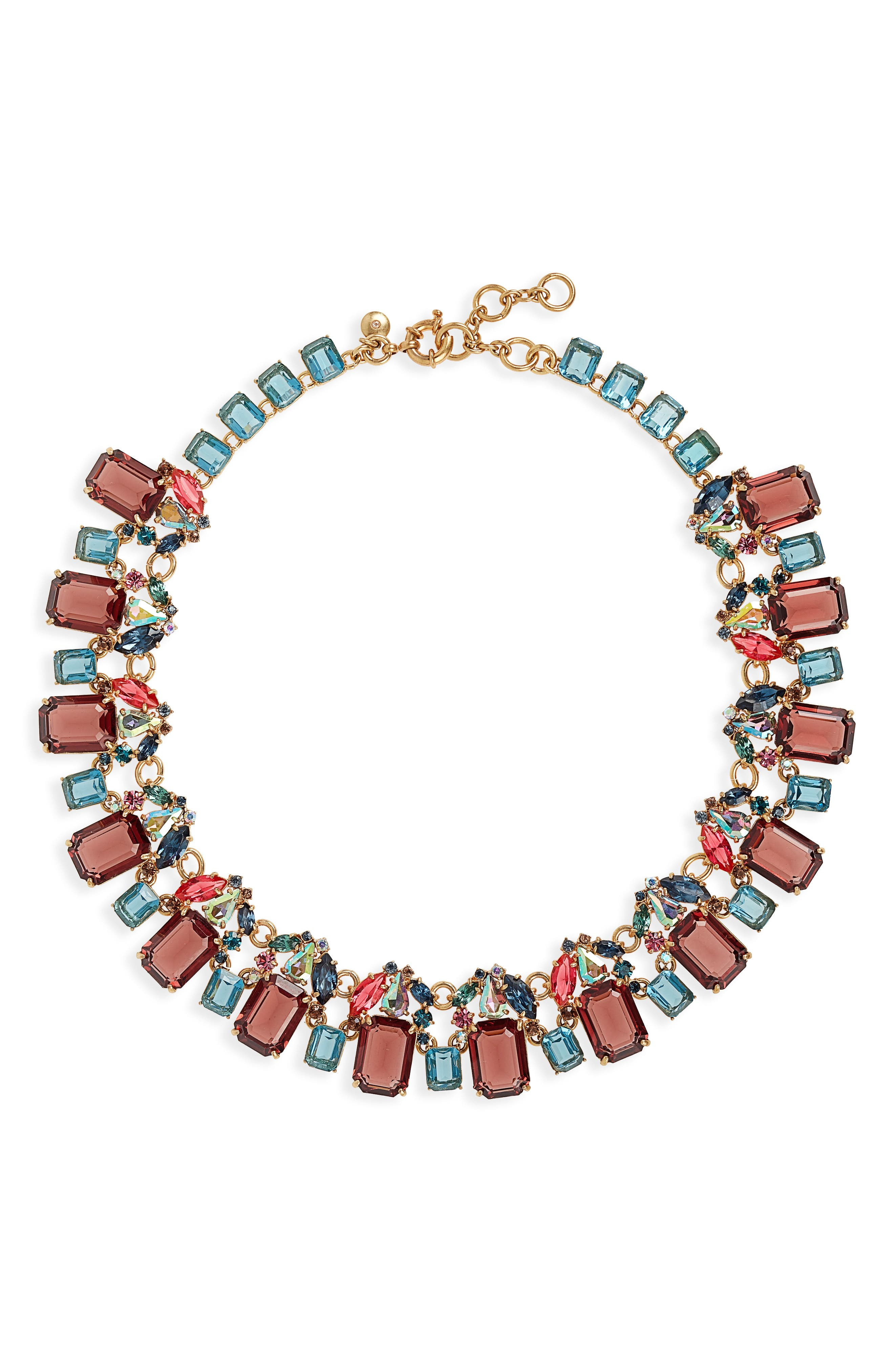 ,                             J. Crew Glass Bead Necklace,                             Main thumbnail 9, color,                             600