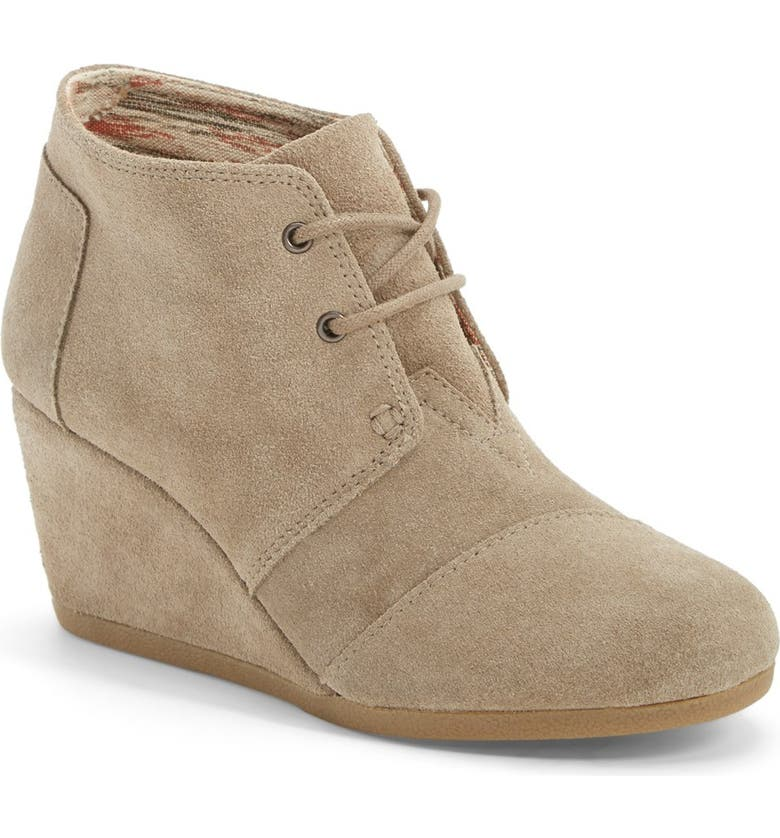TOMS AN TEST TOMS 'Desert' Wedge Bootie, Main, color, 250