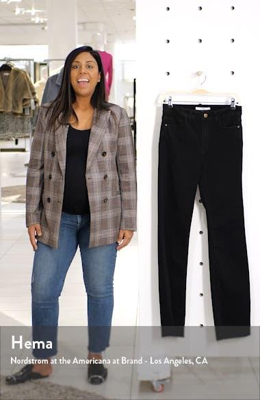The Stiletto High Waist Raw Hem Bootcut Jeans, sales video thumbnail