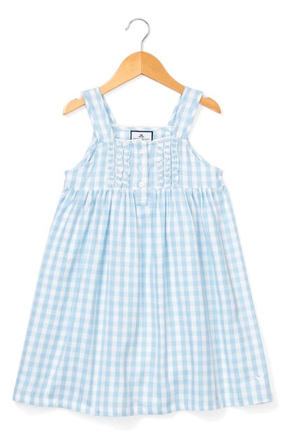 Petite Plume Nightgowns GINGHAM CHECK NIGHTGOWN