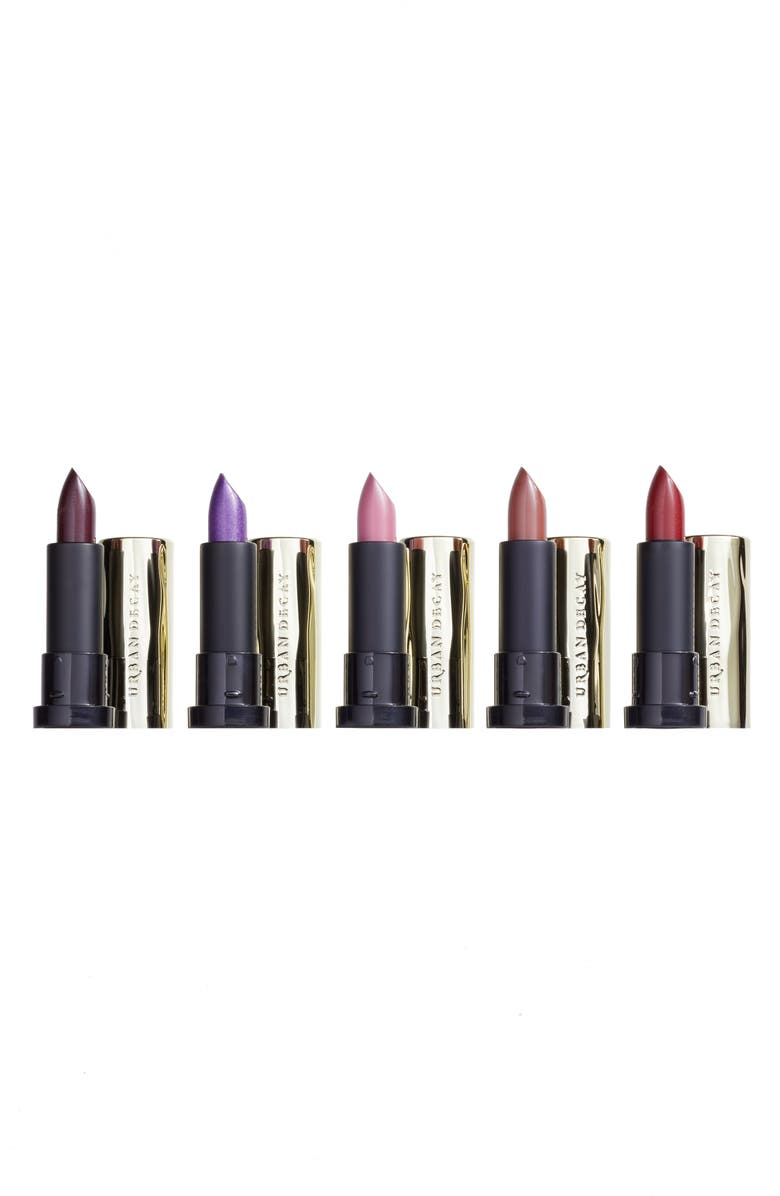 URBAN DECAY Little Vices 5-Piece Lipstick Sample Set, Main, color, 000