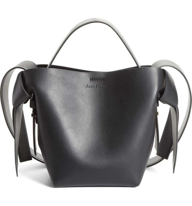 new style & luxury beautiful style detailed look Musubi Leather Mini Bag