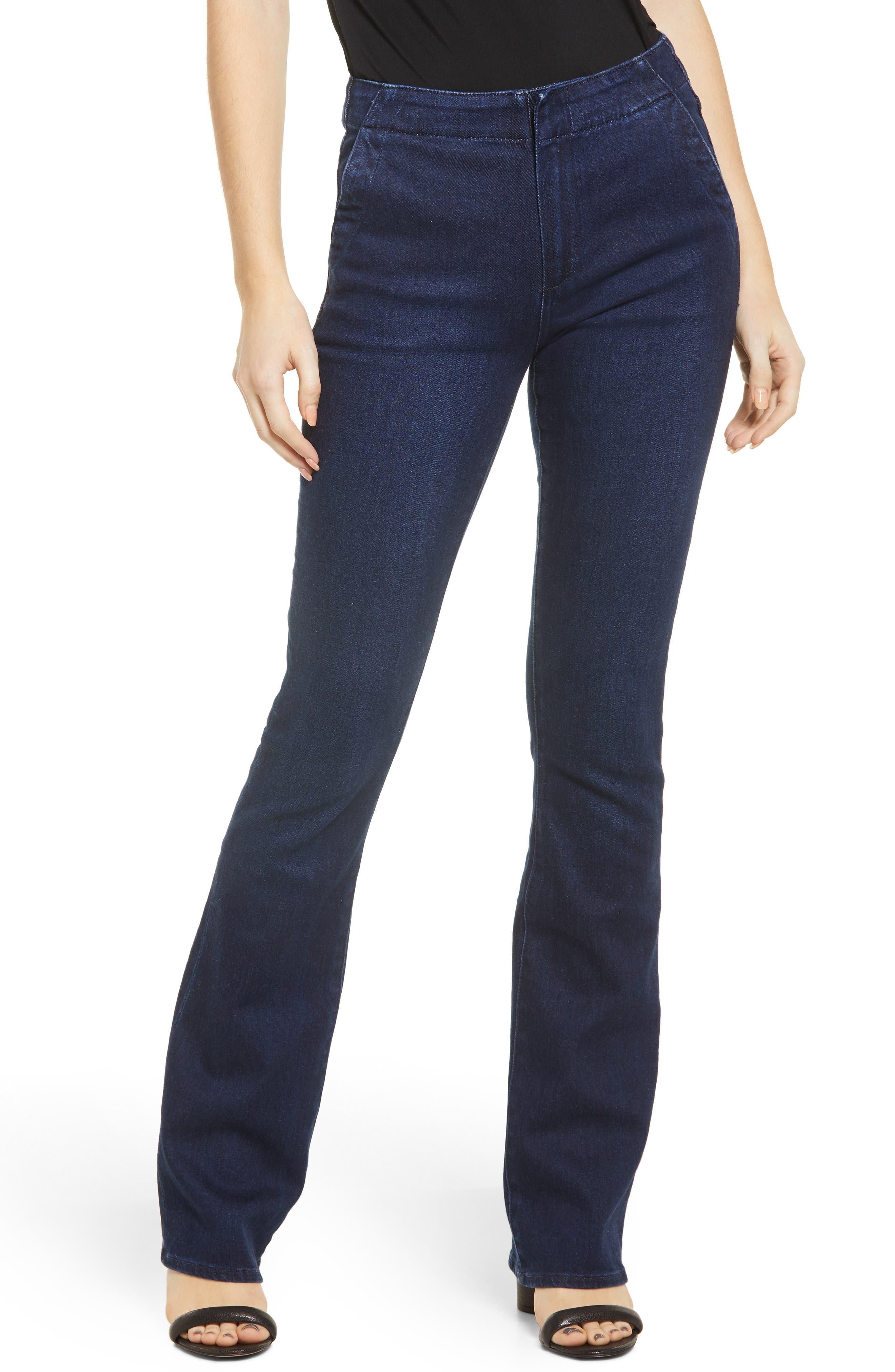 Women's Paige Manhattan High Waist Bootcut Jeans