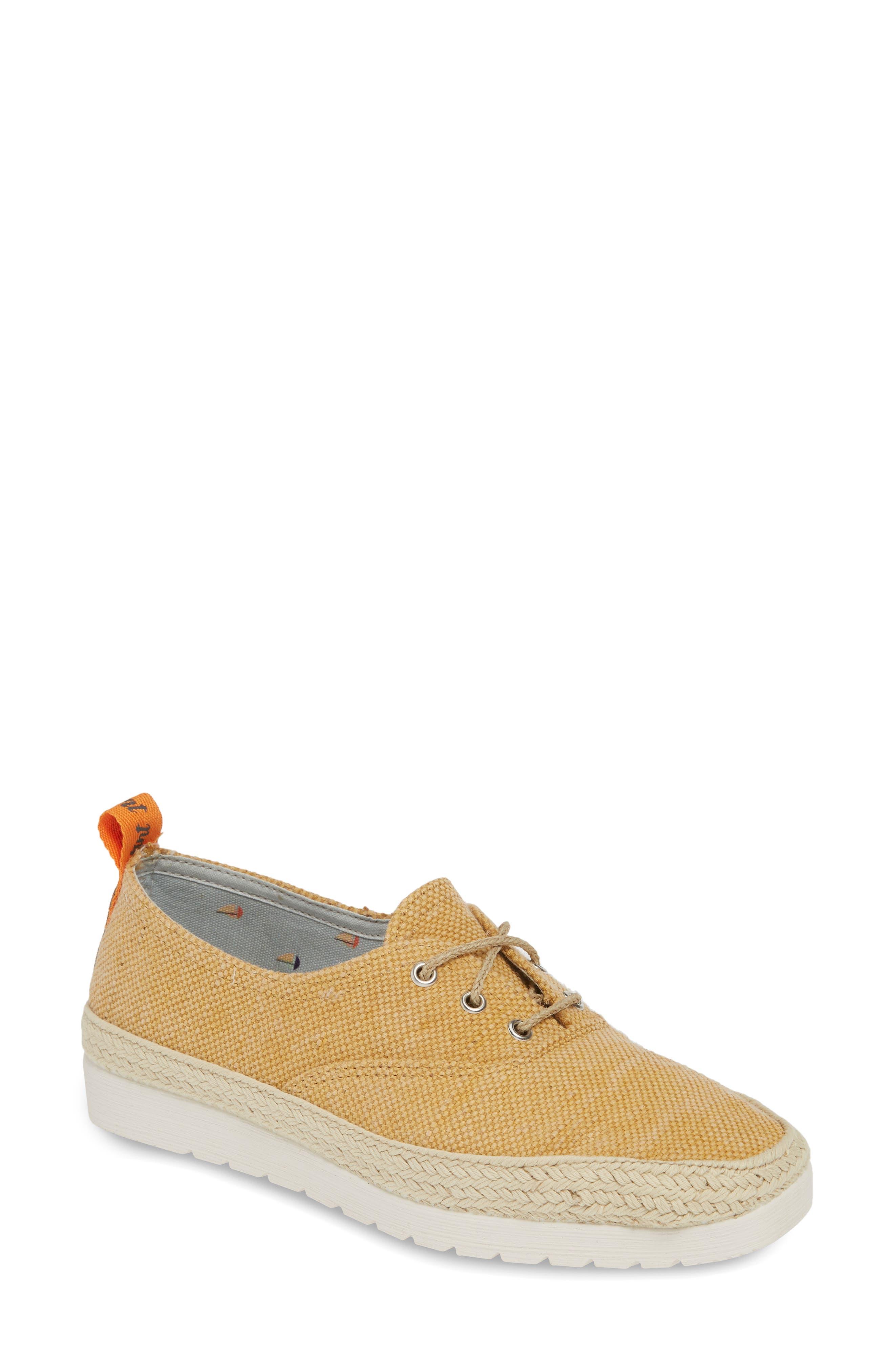 Toni Pons Bego Espadrille Sneaker - Yellow