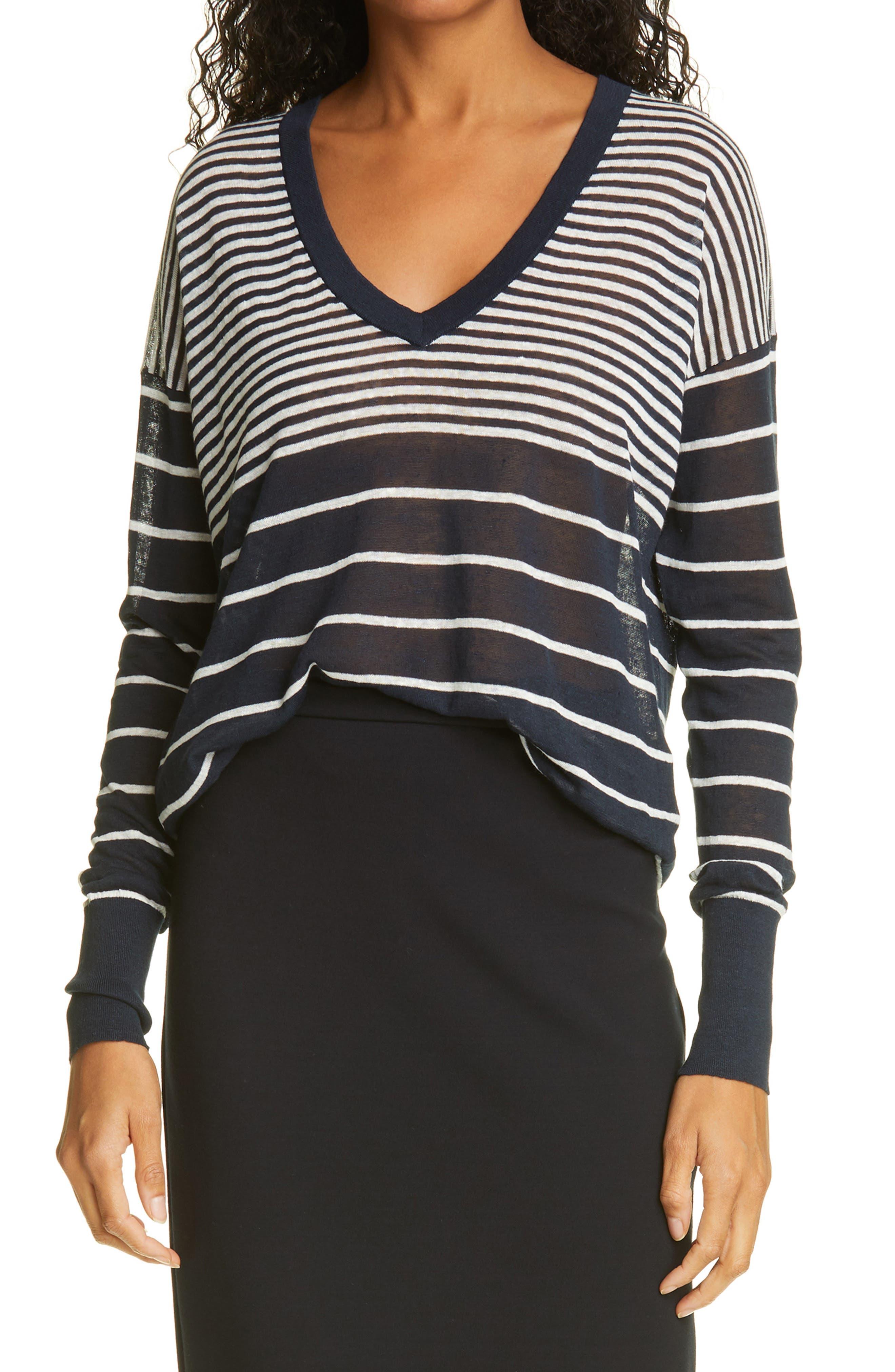 Poppy Stripe Sweater