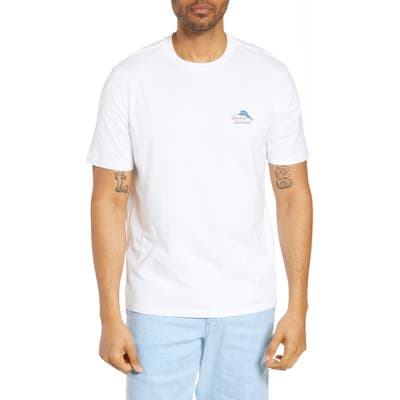 Tommy Bahama Port Captain Graphic T-Shirt, White