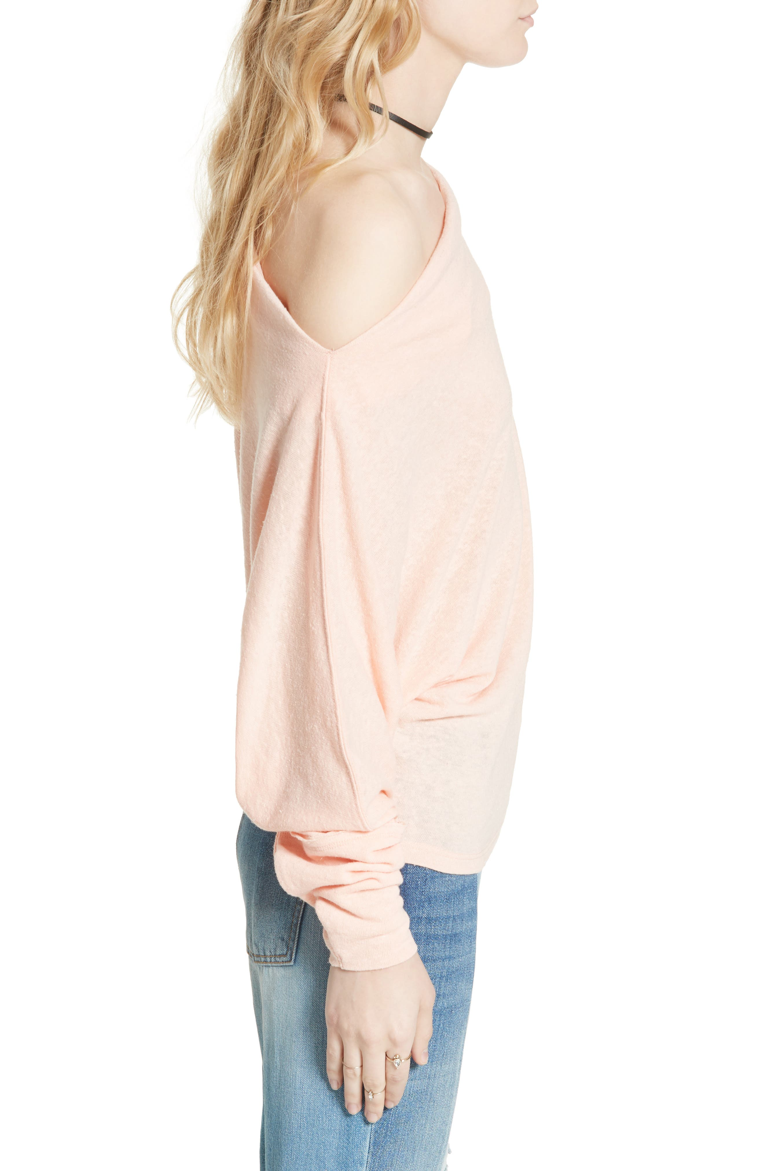 ,                             Valencia Off the Shoulder Pullover,                             Alternate thumbnail 55, color,                             950