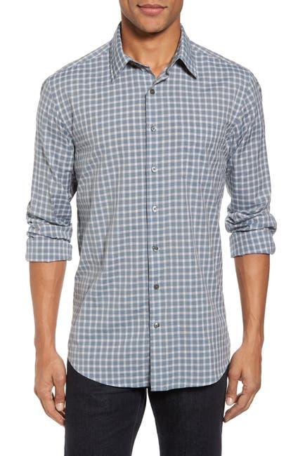 Image of RODD AND GUNN Larkins Way Regular Fit Check Sport Shirt