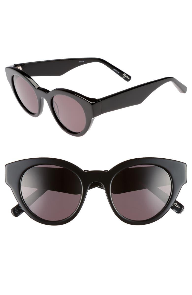ELIZABETH AND JAMES Payton 48mm Cat Eye Sunglasses, Main, color, 001