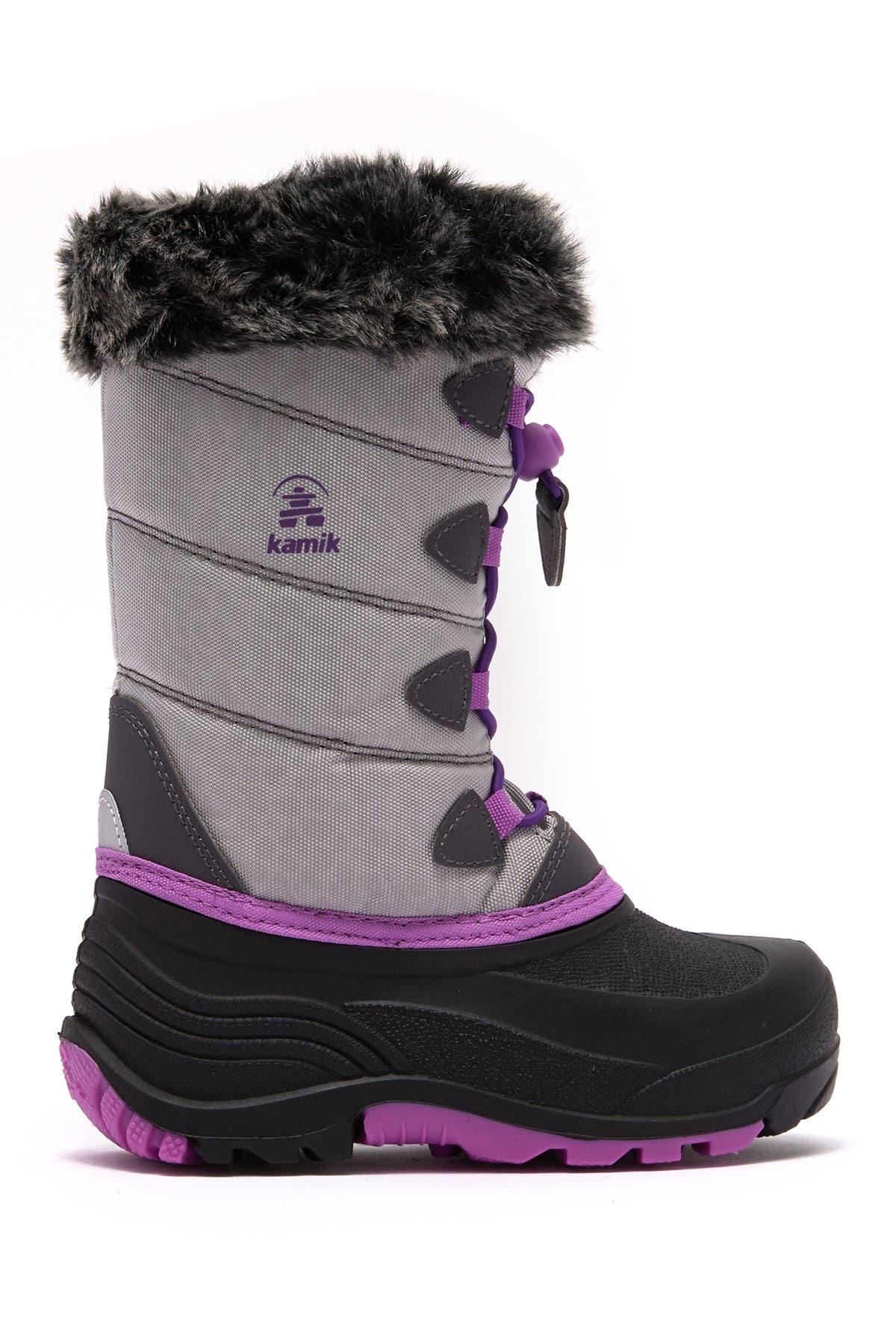 Kamik SnowGypsy3 Waterproof Faux Fur Trim Boot