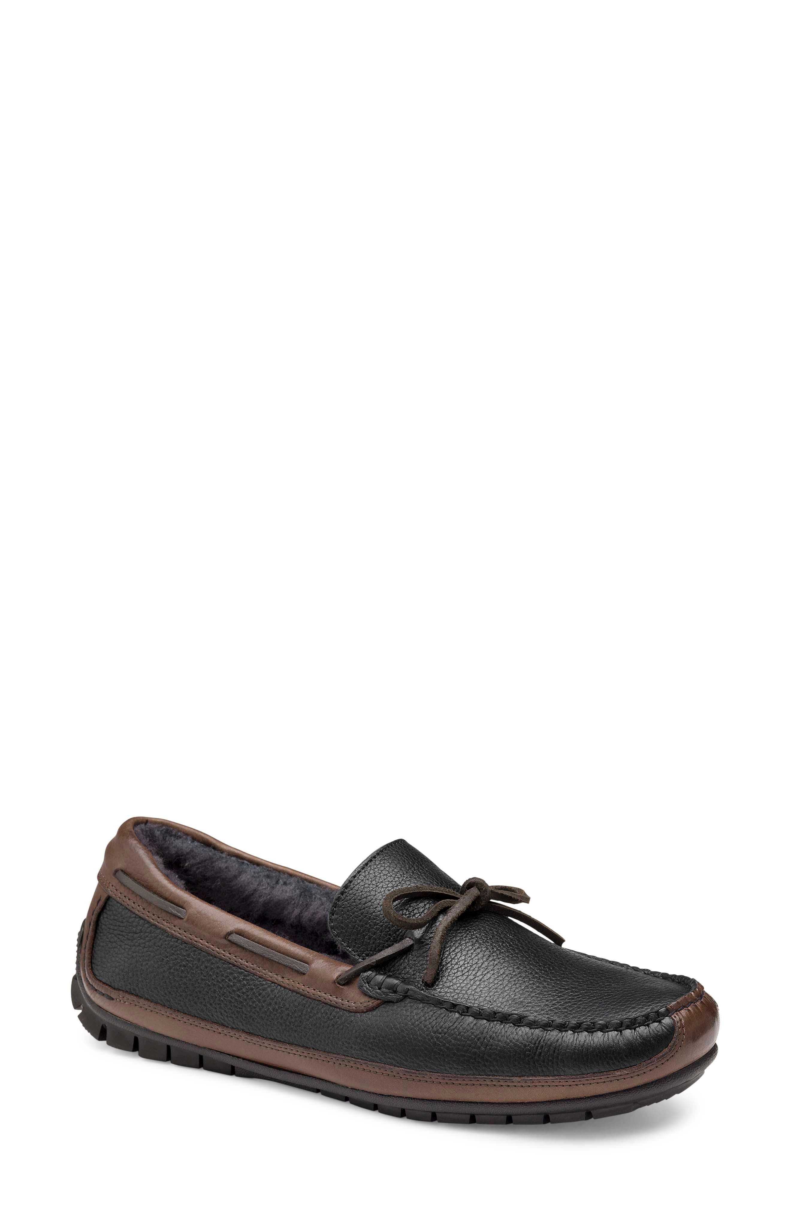 Cort Genuine Shearling Lined Driving Shoe