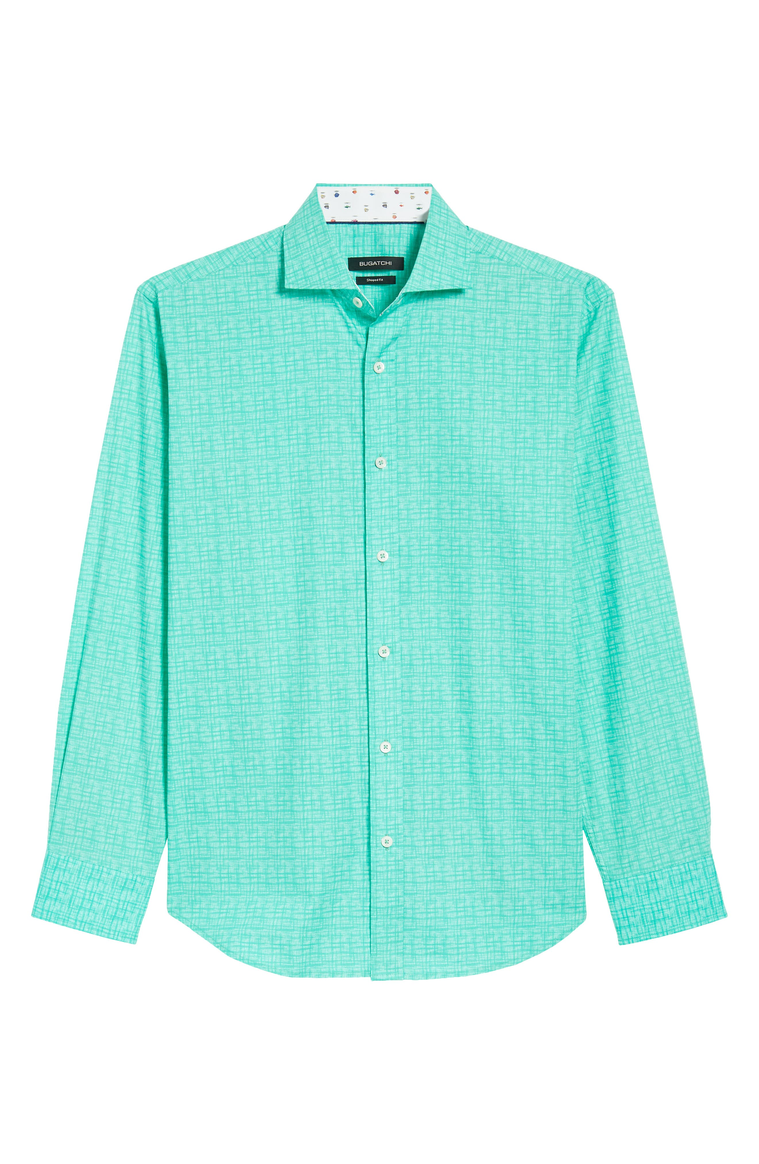 ,                             Shaped Fit Freehand Sport Shirt,                             Alternate thumbnail 6, color,                             313