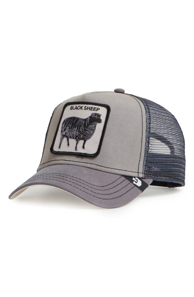 GOORIN BROS. Shades of Black Trucker Hat, Main, color, GREY