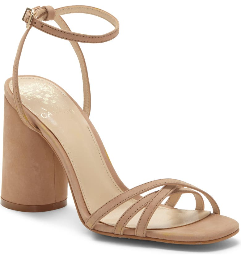 VINCE CAMUTO Kantiel Sandal, Main, color, BEIGE LEATHER