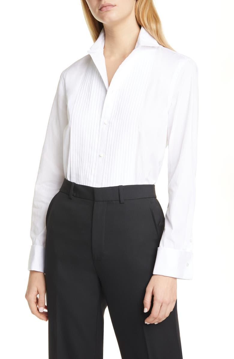 POLO RALPH LAUREN Tux Shirt, Main, color, 100