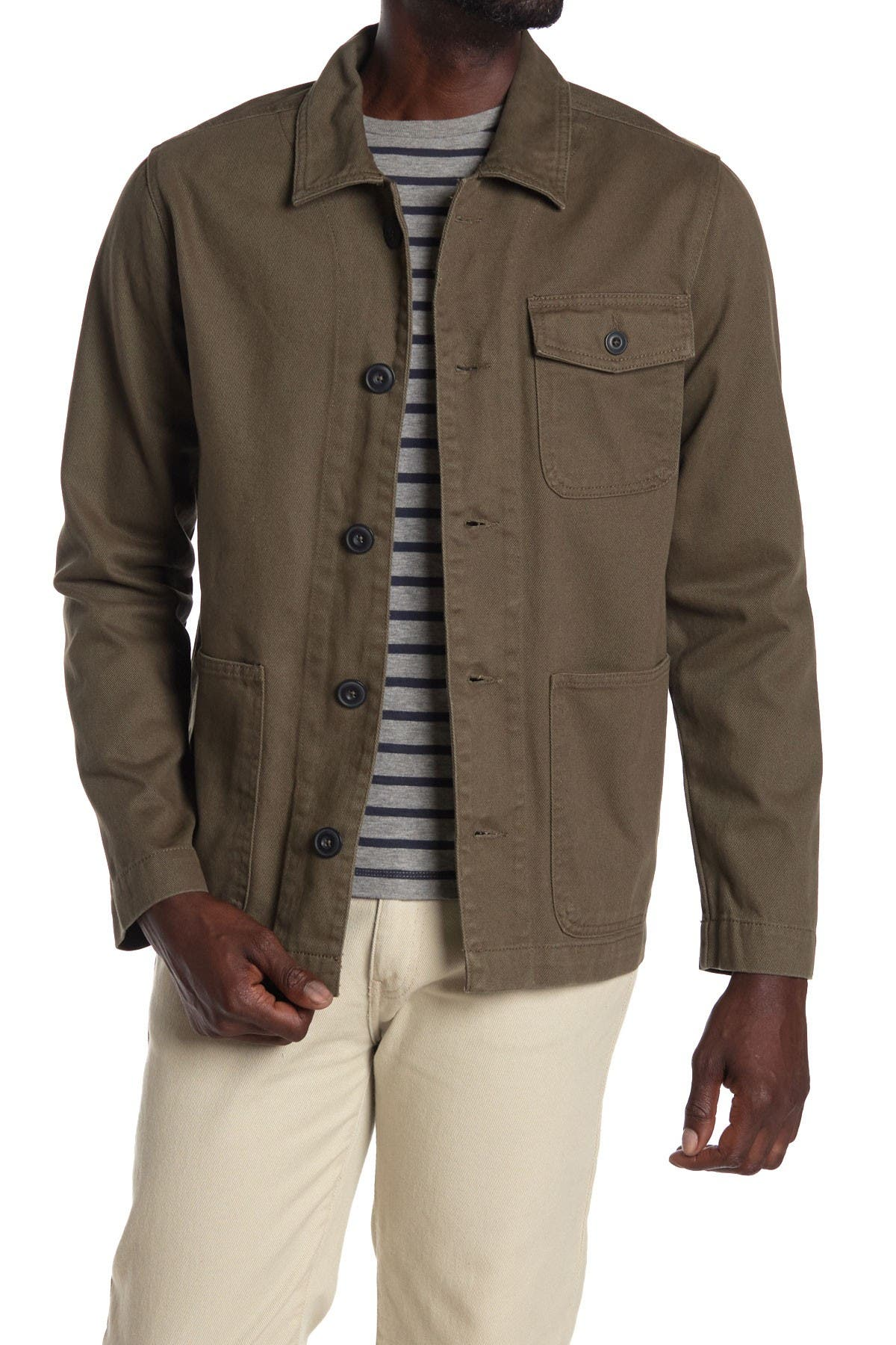 Image of Slate & Stone Cotton Work Wear Jacket