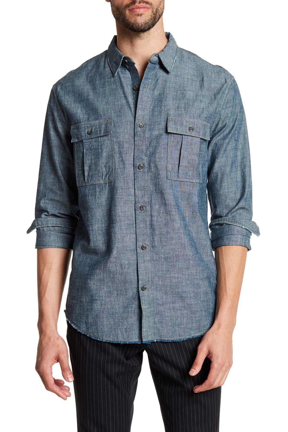 Image of Vince Utility Regular Fit Shirt