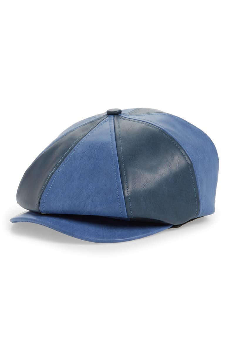 BRIXTON Brood Snap Driving Cap, Main, color, WASHED NAVY/ NAVY