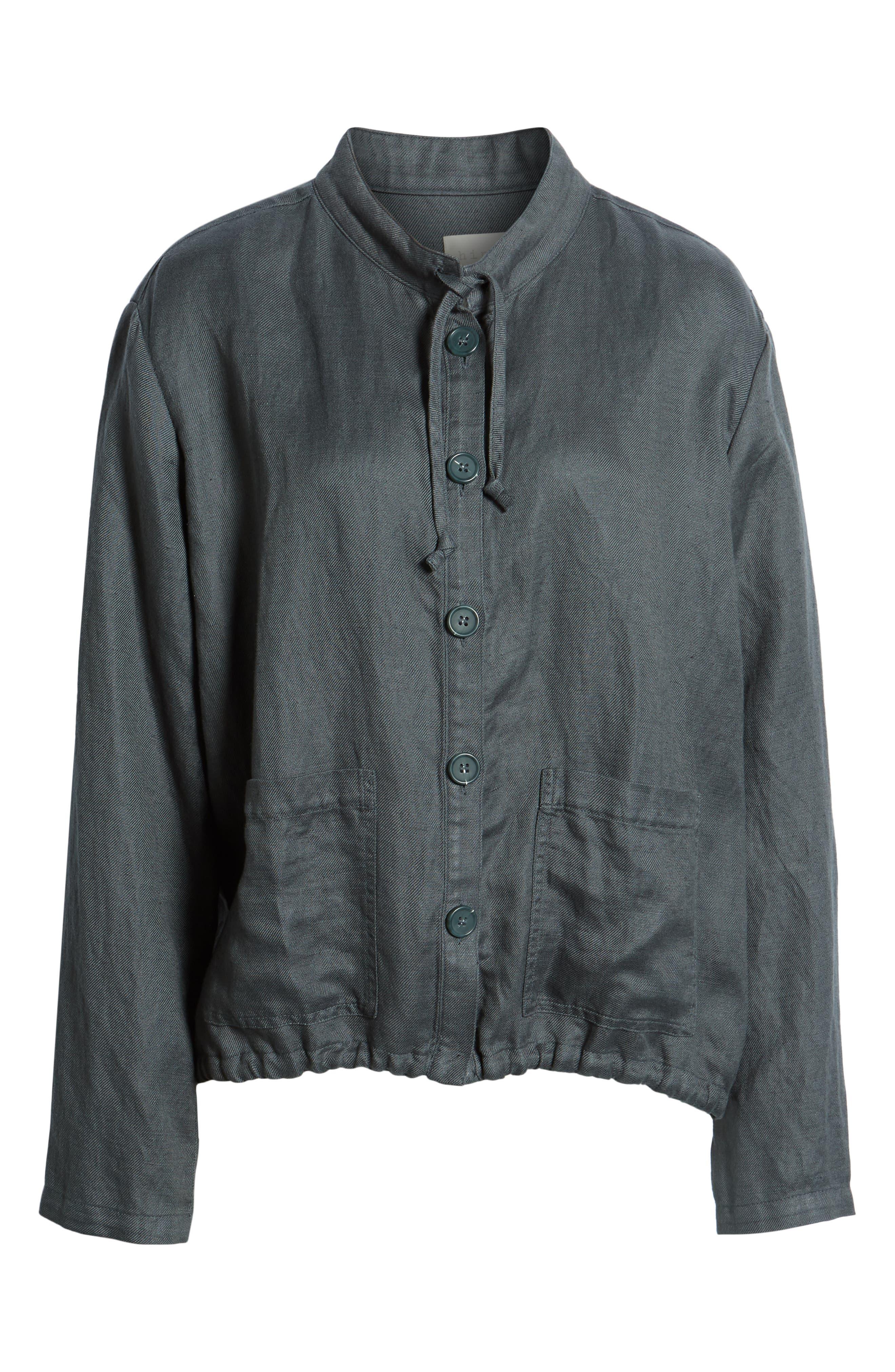 ,                             Oversize Military Jacket,                             Alternate thumbnail 7, color,                             GREY URBAN