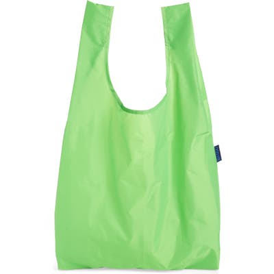 Baggu Standard Baggu Printed Ripstop Nylon Tote - Green