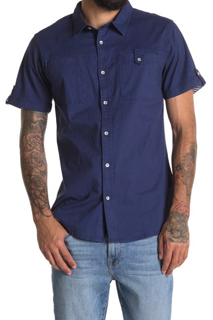 Image of Sovereign Code Buff Patch Pocket Slim Fit Shirt