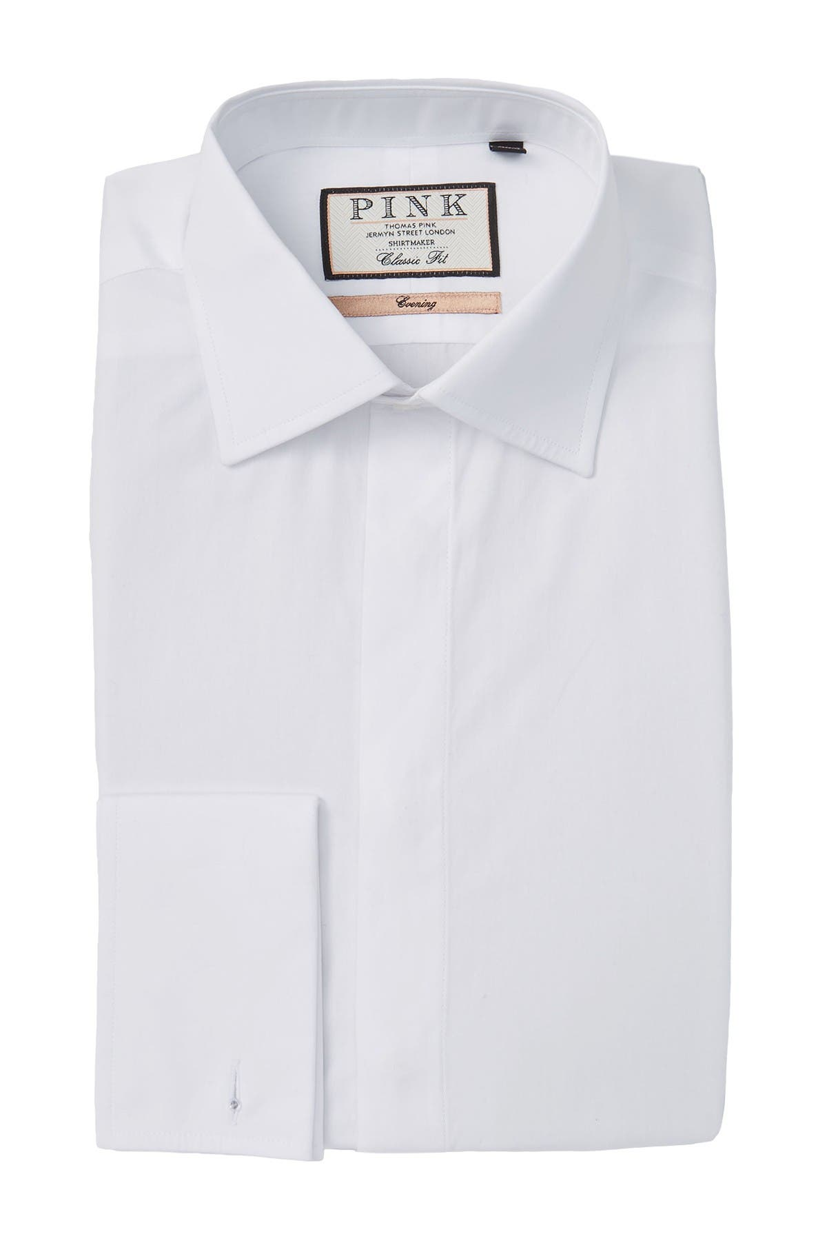Image of THOMAS PINK Evening Classic Fit Dress Shirt