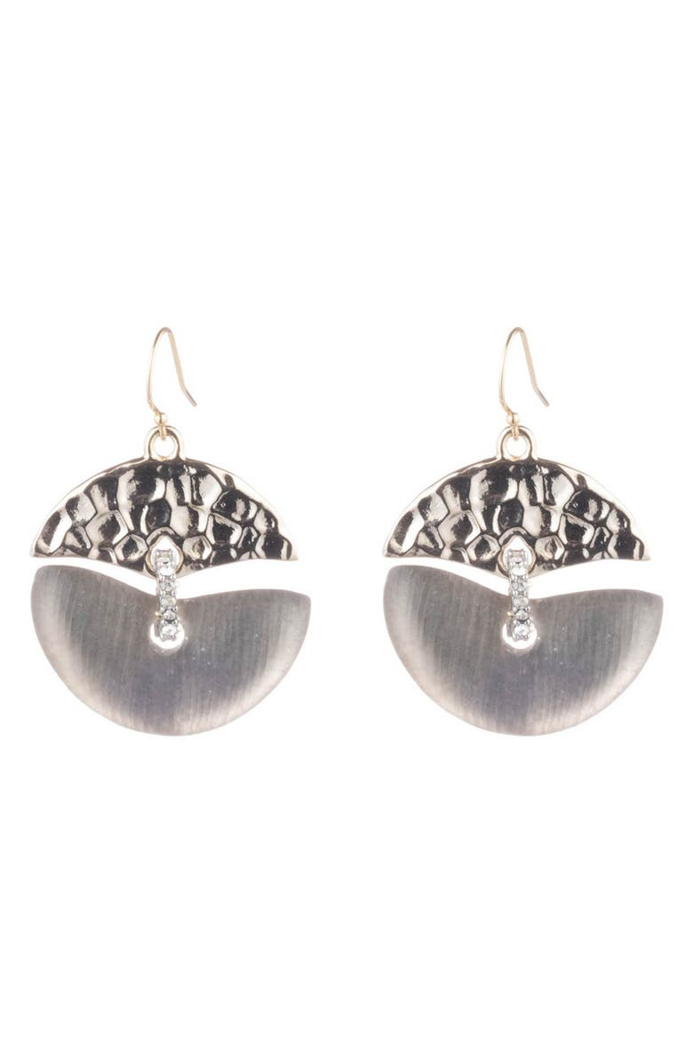 Alexis Bittar Hammered Mobile Drop Earrings