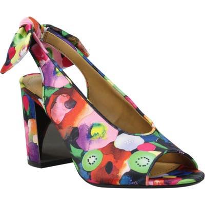 J. Renee Brietta Bow Slingback Sandal, Pink